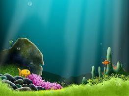 Ethan, Estéban, Gwendoline / poissons dans l'eau