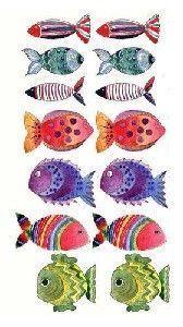 les poissons dans l'eau
