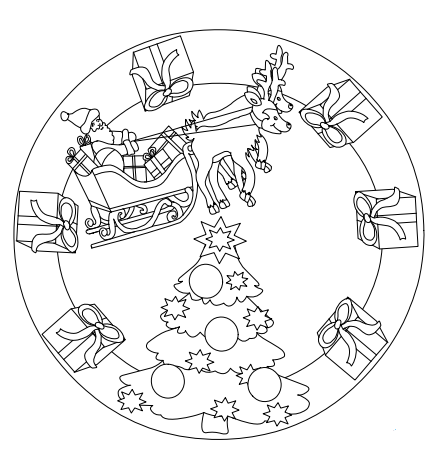 Noel coloriages noel - Noel coloriage ...