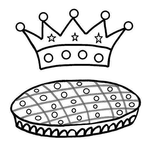 Janna dessin epiphanie - Coloriage de galette des rois ...