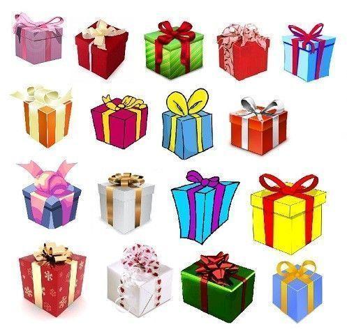 GOMMETTES PAPIERS / les cadeaux