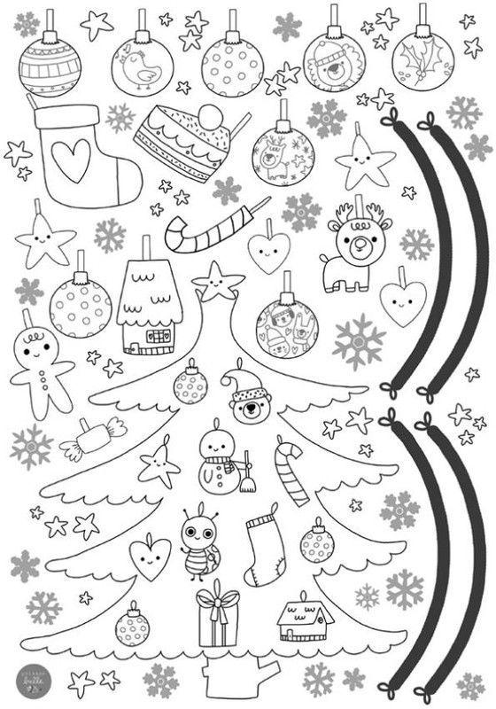 Coloriages noel - Petit dessin de noel a imprimer ...
