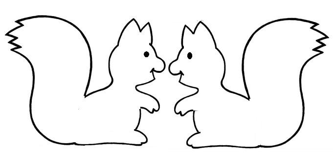 Arbre automne page 7 - Coloriage d ecureuil ...
