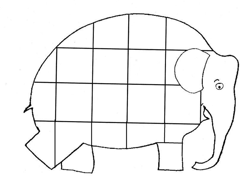 Free Coloring Pages Of Elmer Elephant