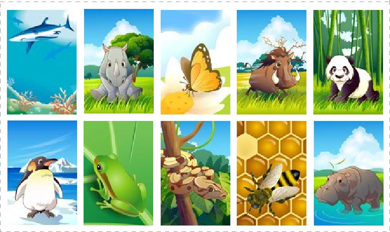 Loto jeux a imprimer - Images animaux a imprimer ...