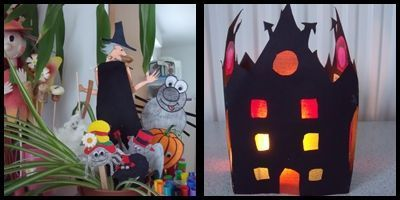 Nos d corations d 39 halloween for Site bricolage maison