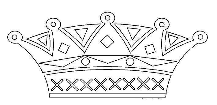 Activite epiphanie - Coloriage couronne ...